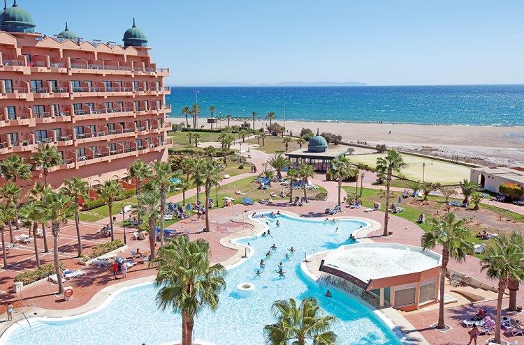 Roquetas de mar en hotel 4 primera l nea de la playa Aquarium en roquetas de mar